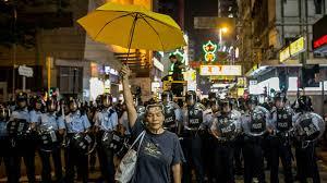China urged the US to stop interfering in Hong Kong