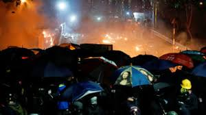 New wave of protests and clashes in Hong Kong