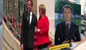 Berlin: dinner planned against a backdrop of disagreements between Emmanuel Macron and Angela Merkel